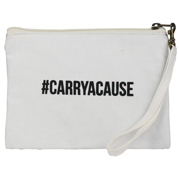 Statement Pouch-#CARRYACAUSE