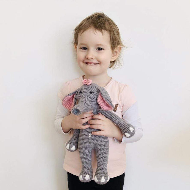 Elephant Crochet Kit