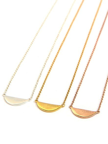 Fair Feminist Necklace - 14k Gold