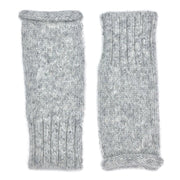 Gray Essential Knit Alpaca Gloves