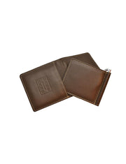 Money Clip Wallet 2in1 Brown