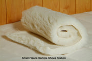 Organic Lamb Fleece Mattress Topper