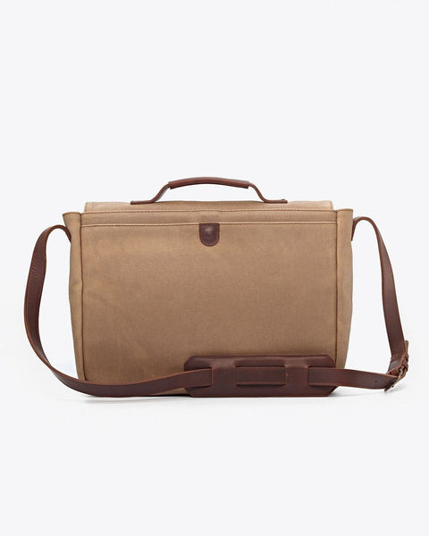Loreto Messenger Bag Waxed Canvas