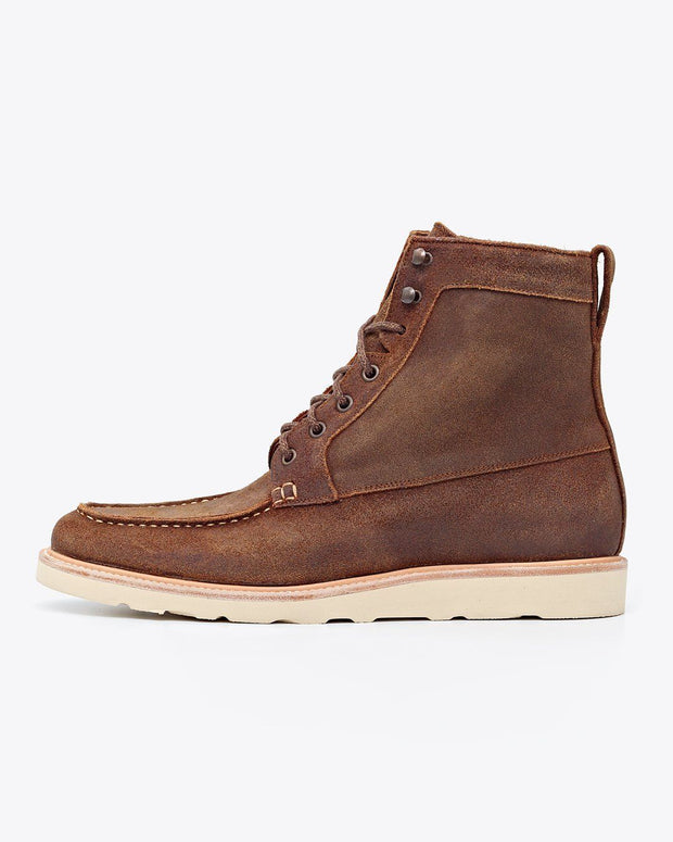 Mateo All Weather Boot Waxed Brown