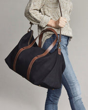 Canvas Weekender Black