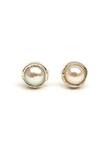 Ethereal Pearl Studs