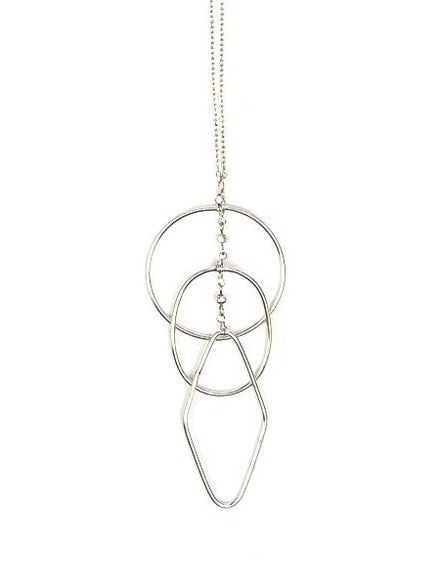 Ripples Necklace - Silver