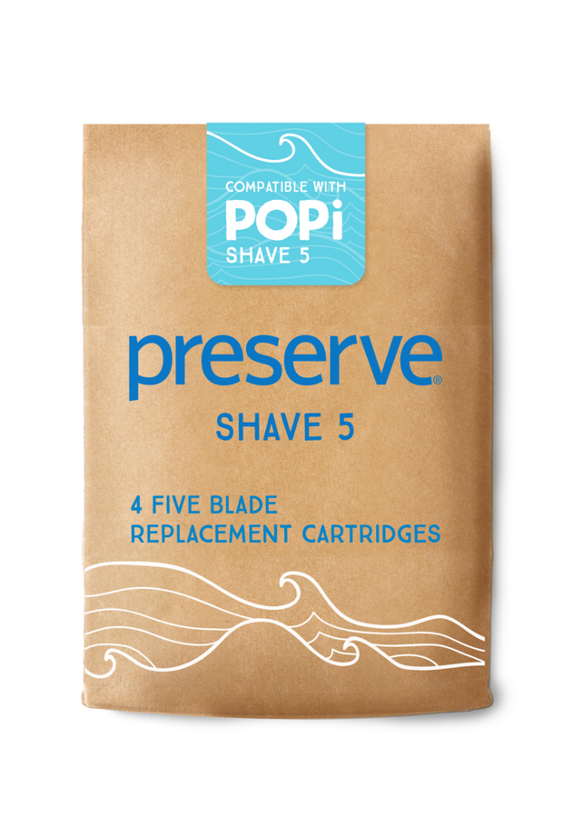 POPi Shave 5 Replacement Blades | 4 Blades