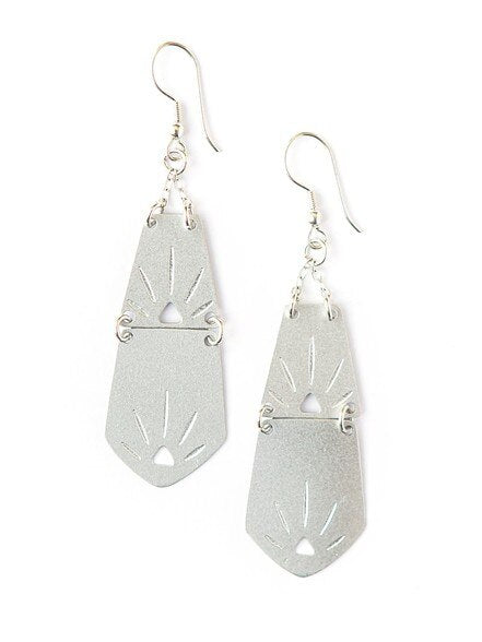 Sol Earrings - Silver