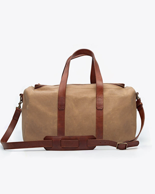 Luis Weekender Waxed Canvas