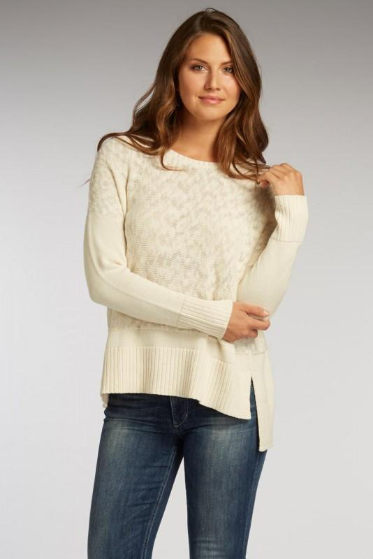 Eco Blocked Pullover