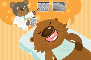 Join Potter the Otter for Two Dental Health Events