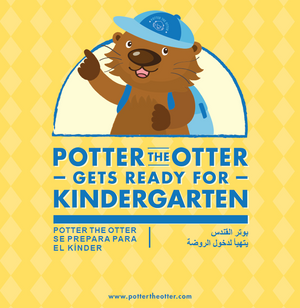 Potter the Otter Gets Ready for Kindergarten (Multilingual)