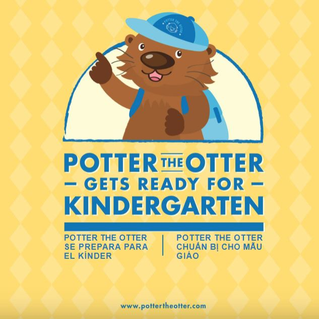 Potter the Otter Gets Ready for Kindergarten