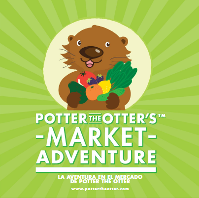 Potter the Otter's Market Adventure