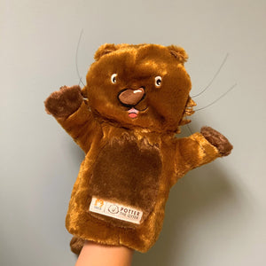 Potter the Otter Hand Puppet for Storytelling
