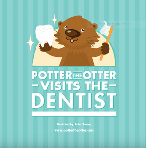 Potter the Otter Visits the Dentist - Trilingual