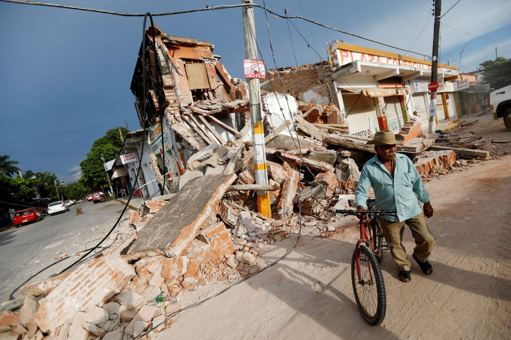 Mexico Earthquake Relief Fund by GlobalGiving.org