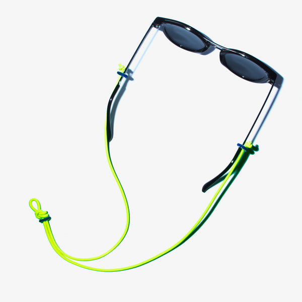 Sunglass Hanger- Neon Yellow