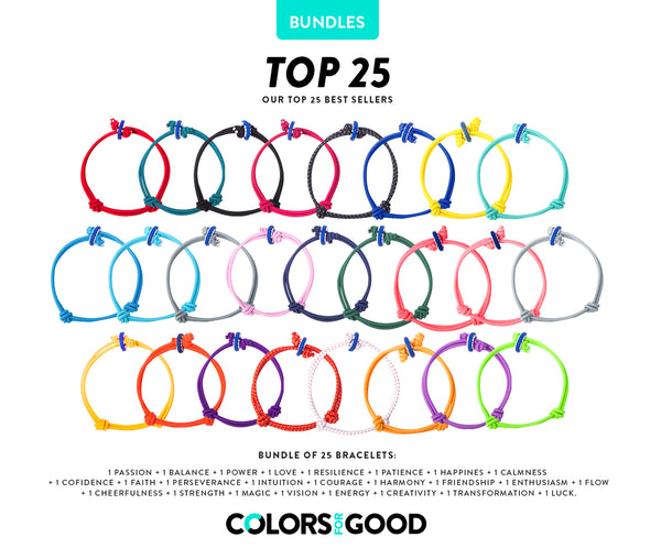 TOP 25 BESTSELLERS - COLOR PACK (ships November 1st)