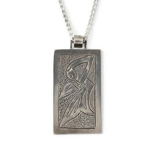 Bran Men's Silver Necklace