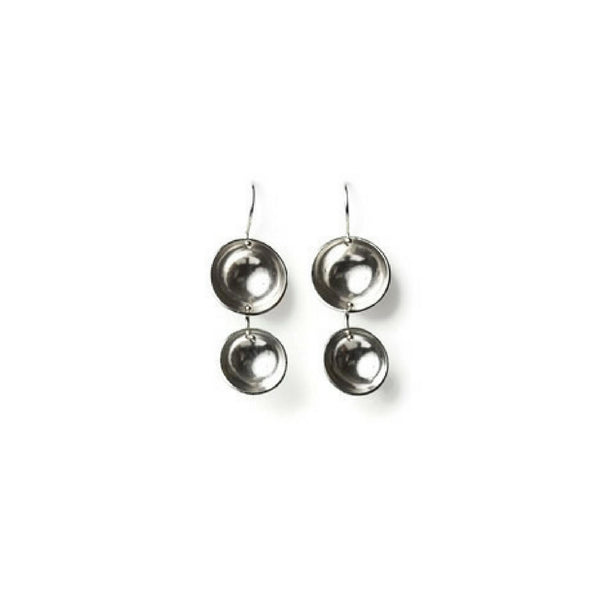 Della Sterling Silver Drop Earrings