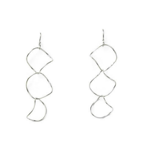 Heloise Sterling Silver Drop Earrings