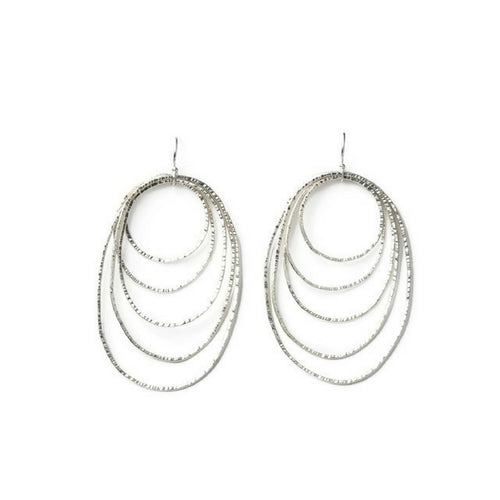 Hera Sterling Silver Chandelier Earrings