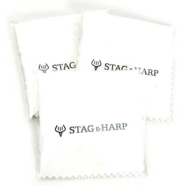 Group of Stag & Harp Polishing Clothes