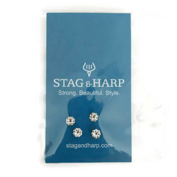 Sterling Silver Earring Backs