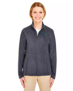 Womens Quarter-Zip Microfleece