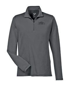Womens Quarter Zip Performance Polo
