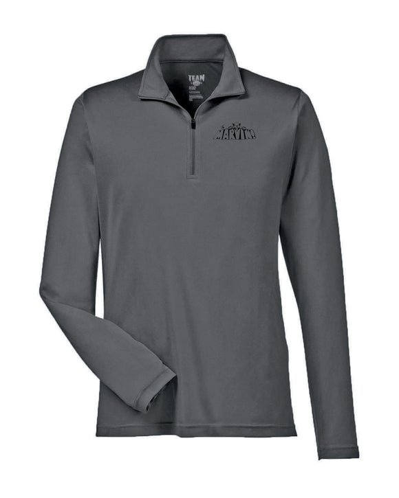 Mens Quarter Zip Performance Polo
