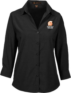 Womens' 3/4 Sleeve Performance Shirt