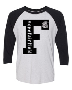 Adult 3/4 Sleeve Raglan T-Shirt