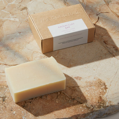 Cleansing Kaolin Clay Bar for Sensitive or Oily Skin