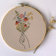 Handmade Embroidery | A Bouquet of Happiness