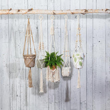 Macrame Planter Hanger with Tail