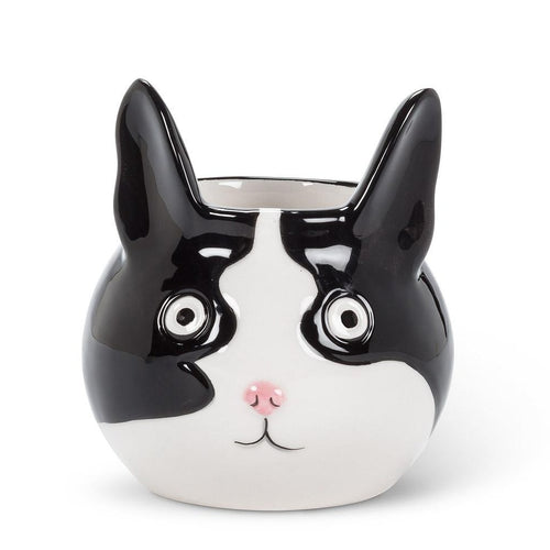 Cat Head Planter