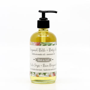 Bergamot Floral Bath & Body Oil