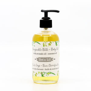 Honeysuckle Flower Bath & Body Oil