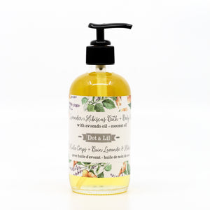 Lavender & Hibiscus Floral Bath & Body Oil