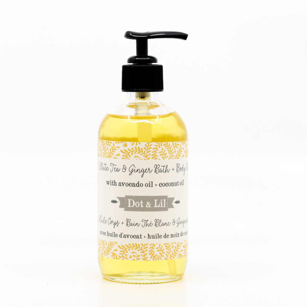 White Tea & Ginger Bath & Body Oil