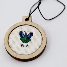 One-of-a-Kind Cross Stitch Design | Butterfly | Fly