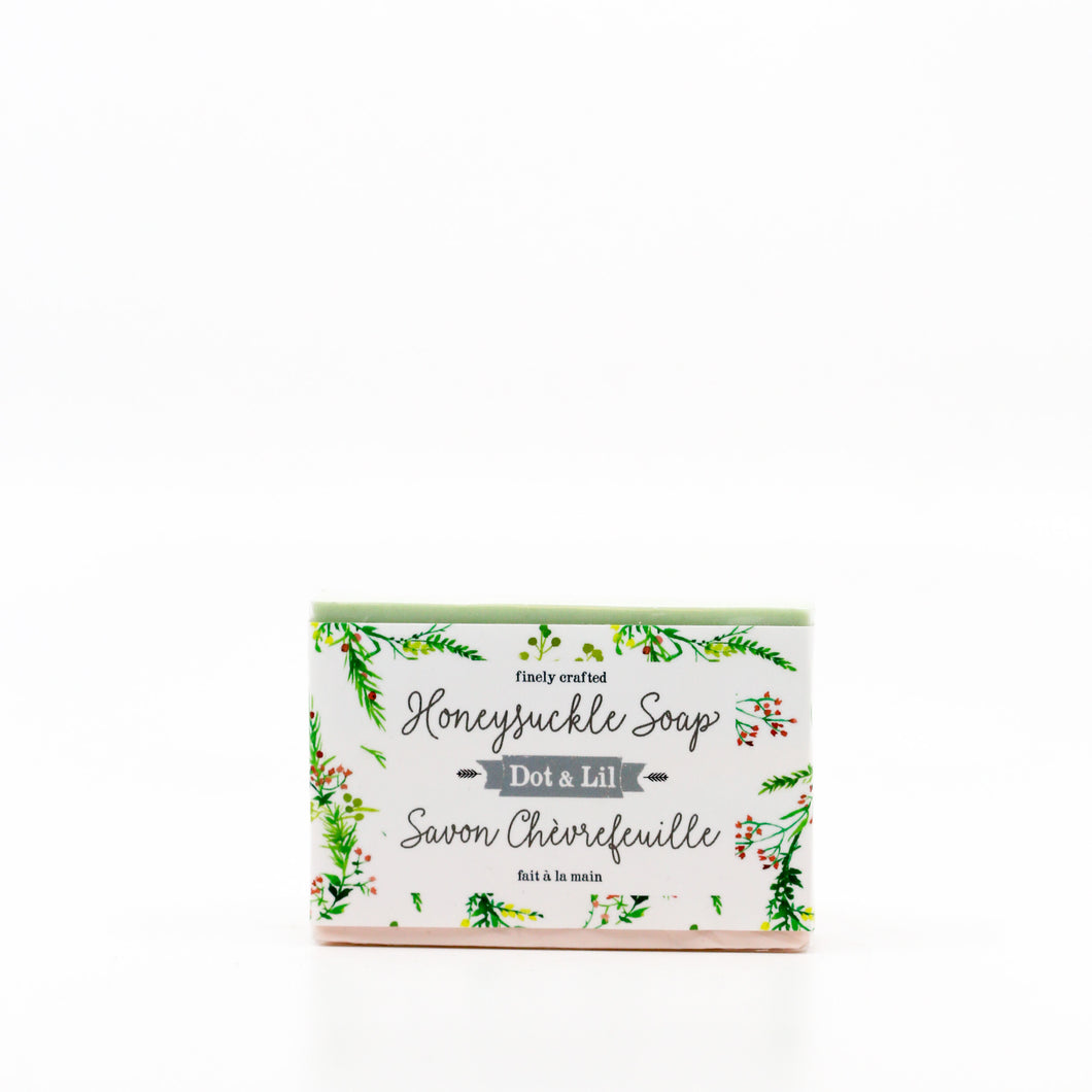 Honeysuckle Flower Cold Process Bar Soap