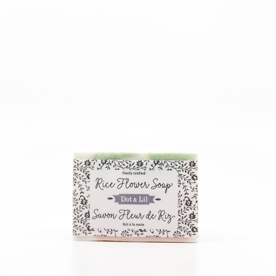 Rice Flower Cold Process Bar Soap