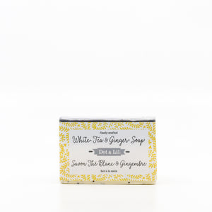 White Tea & Ginger Cold Process Bar Soap