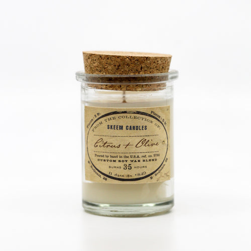 Field Jar Candle Citrus & Olive