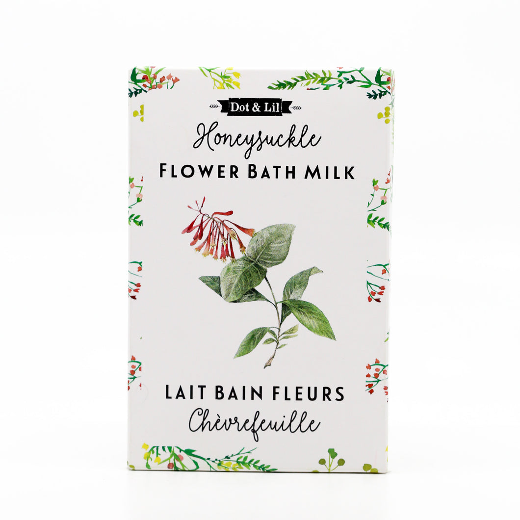 Honeysuckle Flower Milk Bath Sachet