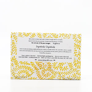 White Tea & Ginger Milk Bath Sachet